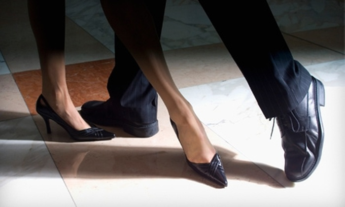 Terry Dean's Ballroom Dance Studio - Charlottesville: $20 for Four Individual or Two Couple's Drop-in Dance Classes at Terry Dean's Ballroom Dance Studio in Charlottesville ($40 Value)