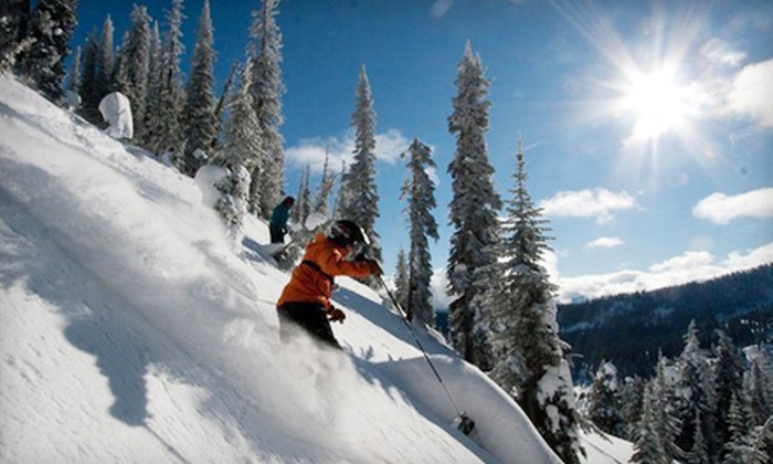 Big Red Cats - Rossland: Cat-Skiing Package at Big Red Cats in Rossland. Three Options Available.