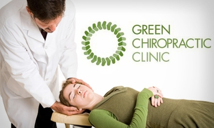 Green Chiropractic Clinic - Multiple Locations: $39 for a New-Patient Visit and Treatment at Green Chiropractic Clinic (Up to $238 Value)