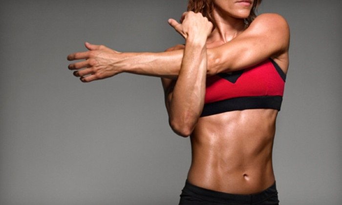 Victory Fit Camp - Kimberline: $49 for a Stronger America Challenge Bootcamp and Nutrition Package at Victory Fit Camp (Up to $348 Value)