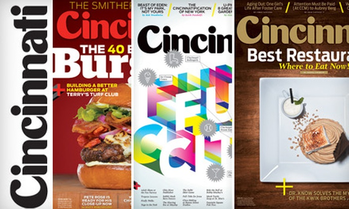 """Cincinnati Magazine"" - Norwood: $7 for One-Year Subscription to ""Cincinnati Magazine"" ($14.95 Value)"