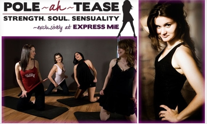 Express MiE Dance Fitness - Tempe: $15 for a Pole-Dancing Fitness Intro Class at Express MiE Dance Fitness ($30 Value)