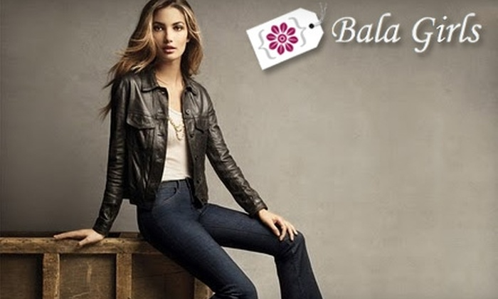 Bala Girls - Bala Cynwyd: $30 for $75 Worth of Women's and Girl's Apparel at Bala Girls in Merion