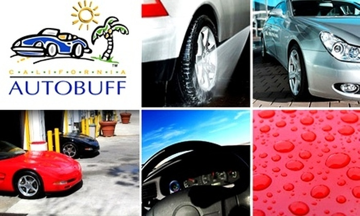 California Autobuff - Peachtree Heights West: $69 for a Micro Detail from California Autobuff