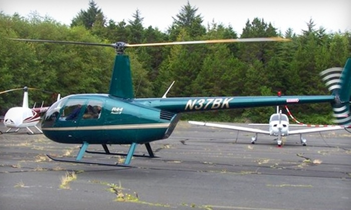 Pioneer Helicopters, Inc. - Independence: Helicopter Tours and Flight Lessons from Pioneer Helicopters, Inc. Choose from Three Options (Up to $360 Value).