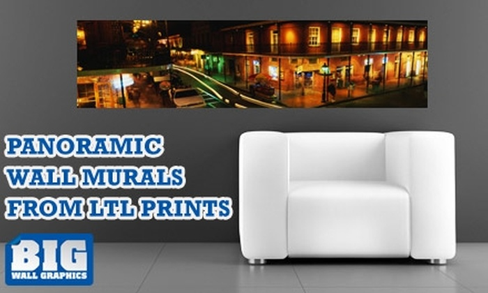 Larger Than Life Prints - New Orleans: $35 for a Panoramic Wall Mural from Larger Than Life Prints