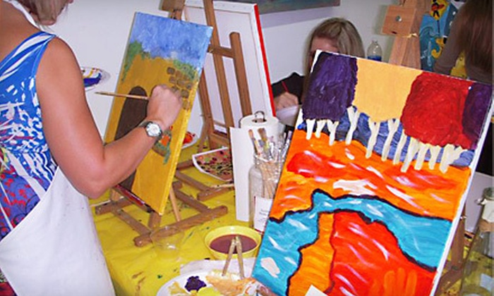 SunDust Art Gallery - Downtown Mesa: BYOB Painting Class or Walk-In Painting Class for One or Two at SunDust Art Gallery in Mesa (Up to 54% Off)