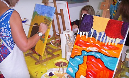 Walk-In & Paint Art Session for One (a $25 value) - SunDust Art Gallery in Mesa