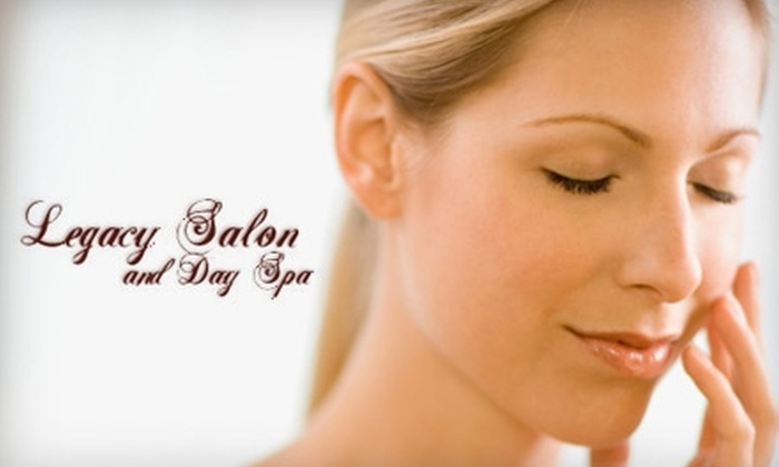 Legacy Salon and Day Spa - Hales Corners: $50 for a Facial at Legacy Salon and Day Spa (Up to $100 Value)