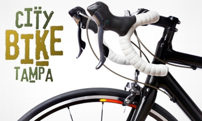 City Bike Tampa - Downtown: $29 for a Multi-Speed Bike Tune-up from City Bike Tampa ($64 Value)