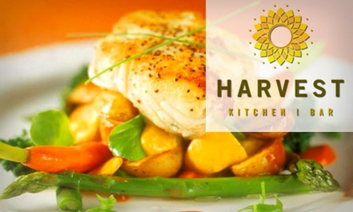Harvest Kitchen/Bar - Downtown Wichita: $15 for $35 Worth of Fresh American Cuisine and Drinks at Harvest Kitchen/Bar
