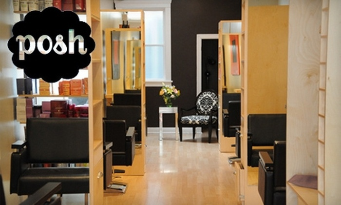 Posh Salon - Pacific Heights: $35 for a Haircut at Posh Salon