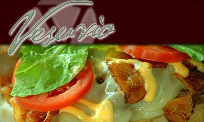 Vesuvio - Bella Vista/ Southwark: $15 for $30 Worth of Gourmet Pub Fare and Drinks at Vesuvio