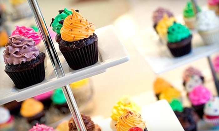 Bite Me Bakery - Thornhill: 12 or 24 Bite-Sized Cupcakes at Bite Me Bakery in Thornhill (Up to 57% Off)