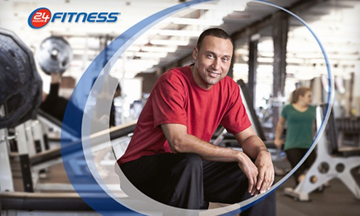24 Hour Fitness Derek Jeter Ultra-Sport Club SoHo  - Nolita,Downtown,NoHo: $39 for a 30-Day Membership to 24 Hour Fitness Derek Jeter Ultra-Sport Club SoHo ($169.99 Value)
