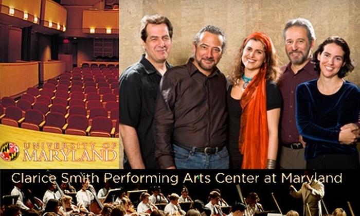 """Clarice Smith Performing Arts Center - College Park: $18 Ticket to Sérgio and Odair Assad's Classical Guitar Concert, """"De Volta As Raizes"""" ($37 Value)"""