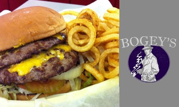 Bogey's Hamburgers - Tulsa: $5 for $10 Worth of Burgers, Drinks, and More at Bogey's Hamburgers