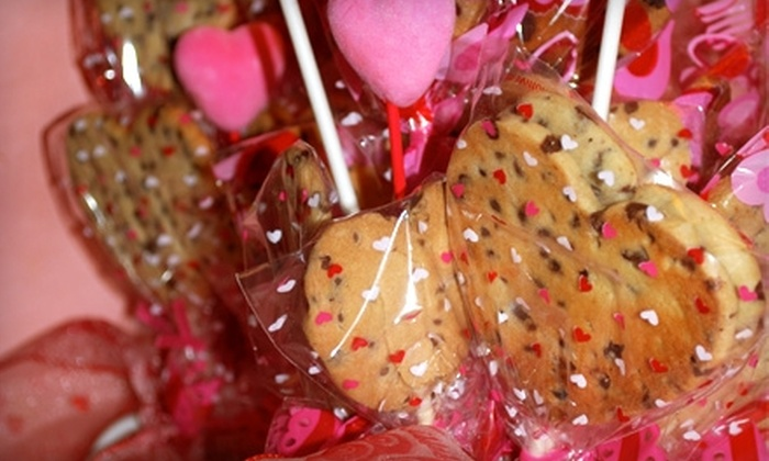 Peace O' Cake - Arbutus: $17 for Cookie Bouquet and Delivery from Peace O' Cake ($35 Value)