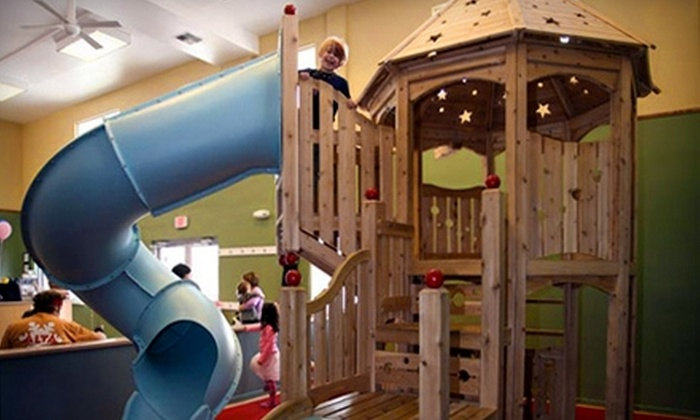 Arctic Playgroundz - Midtown: One-Month Family Pass or Single-Child Pass to Arctic Playgroundz Indoor Play Land