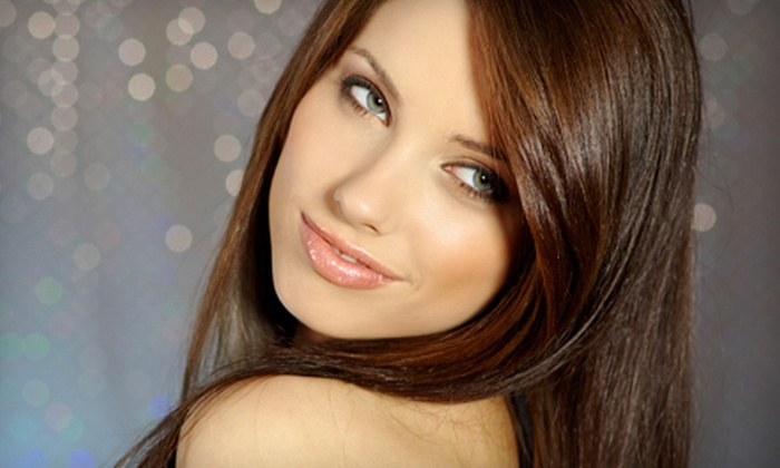 Trouble Salon - Southwest Arapahoe: $99 for a Brazilian Blowout Zero Hair-Smoothing Treatment at Trouble Salon in Greenwood Village ($250 Value)