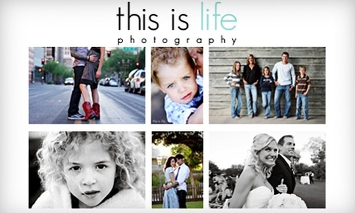 This Is Life Photography - Phoenix: $69 for a One-Hour On-Location Portrait Session, Three Prints, and One Digital File from This Is Life Photography ($580 Value)