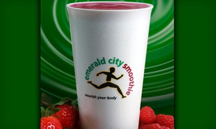 Emerald City Smoothie: $5 for $10 Gift Card at Emerald City Smoothie