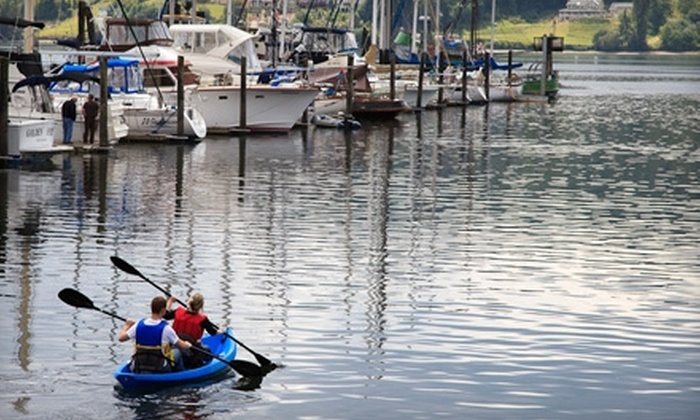 Northwest Boat Rentals - Poulsbo: Boat Adventure from Northwest Boat Rentals in Poulsbo. Choose Between Two Options.