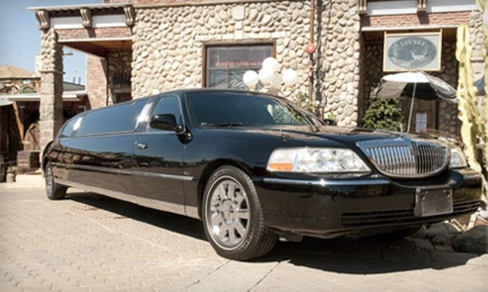 Pick a Theme Limousine - Old Town Temecula: $65 for a Three-Hour Limousine Wine Tour for One from Pick a Theme Limousine in Temecula ($150 Value)