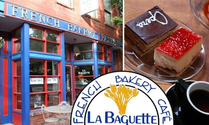 La Baguette - Old Colorado City: $6 for $12 Worth of French Bakery Bites and Drinks at La Baguette