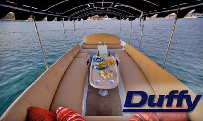 Duffy Electric Boat Company - South Fort Lauderdale: $75 for a Two-Hour Boat Rental for Up to 12 Passengers with Duffy Electric Boat Company