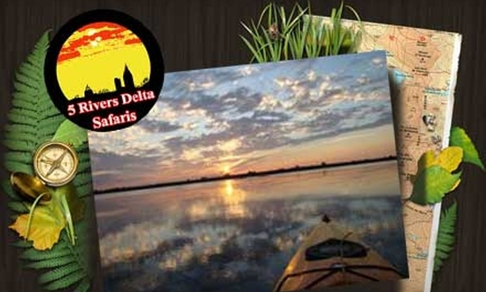 Five Rivers Delta Safaris - Spanish Fort: $25 for a Three-Hour Guided Kayak Tour from Five Rivers Delta Safaris