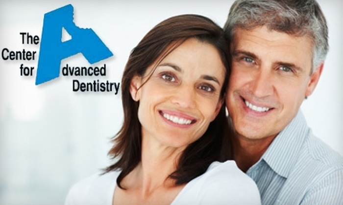 The Center for Advanced Dentistry Beachwood - Beachwood: $99 for a Teeth-Whitening Treatment or $59 for a Dental Exam and Cleaning at The Center for Advanced Dentistry