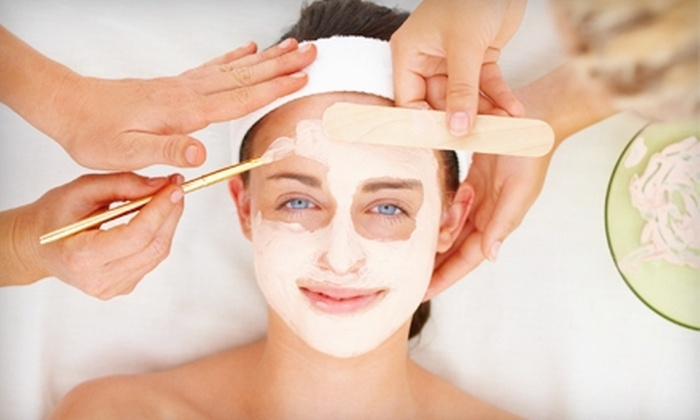 Derma Home - Cherry Creek: $63 for a Spring Facial, Eyebrow Shaping, and $25 Spa Cash Card at Derma Home in Centennial ($125 Value)