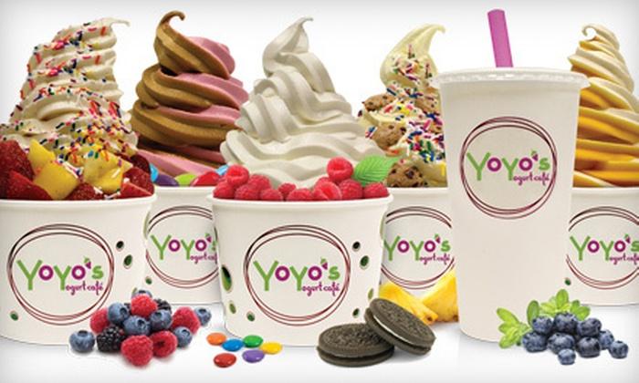 YoYo's Yogurt Cafe - Downtown Location: $12 for $25 Worth of Frozen Yogurt at YoYo's Yogurt Cafe