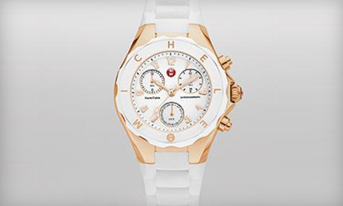 Michele Tahitian Watch: $199 for a Michele Tahitian Jelly Bean Watch ($345 Value). Shipping Included.