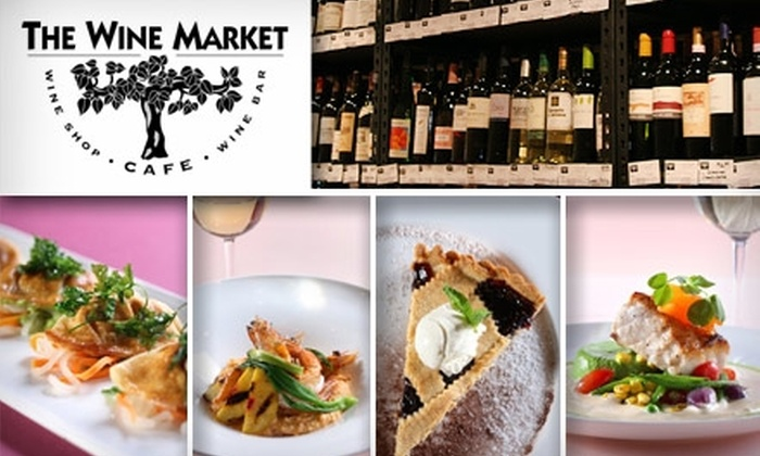The Wine Market Cafe - Riverside: $15 for $30 Worth of American Cuisine and Fine Wine at The Wine Market Cafe