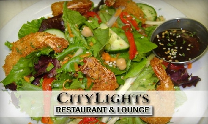 City Lights Lounge - Downtown: $7 for $15 Worth of Pub Fare and Drinks at City Lights Lounge