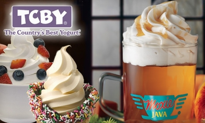TCBY - Eastside: $5 for $10 Worth of Soft-Serve Yogurt, Smoothies, Biscotti, Coffee, and More at TCBY/Moxie Java
