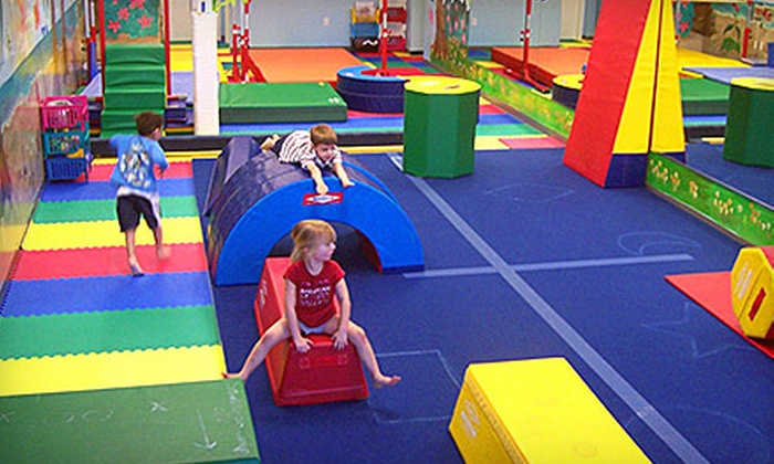 Love to Swim and Tumble School - Multiple Locations: $69 for Two Months of Children's Tumbling Classes at Love to Swim and Tumble School (Up to $149 Value)