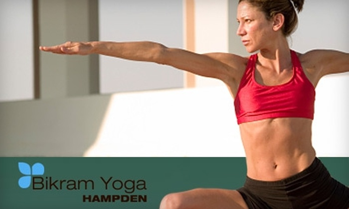 Bikram Yoga Wellness Spa - Hampden: $25 for a Five-Class Card at Bikram Yoga Hampden ($75 Value)