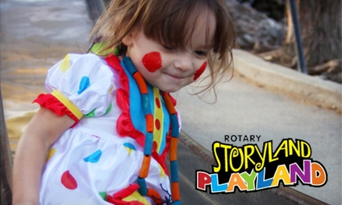Rotary Storyland & Playland - West Fresno: $60 for a Standard Birthday Package at Rotary Storyland & Playland ($125 Value)