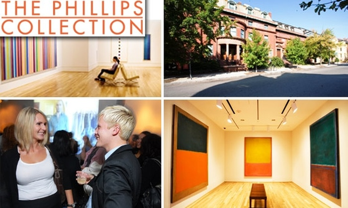 The Phillips Collection - Dupont Circle: Contemporary Membership to The Phillips Collection: America's First Museum of Modern Art