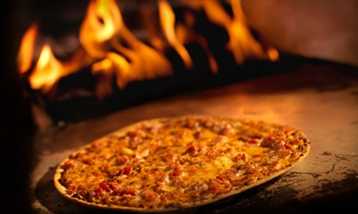 Vesuvius Wood Fired Pizza - South Ames Business: $10 for $20 Worth of Pizza and More at Vesuvius Wood-Fired Pizza
