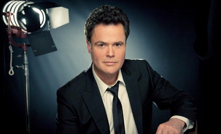 Live Nation: Donny Osmond at Toyota Presents Oakdale Theatre on Wed., Aug. 24 at 7:30PM: Sections 203-207 - Donny Osmond in Wallingford