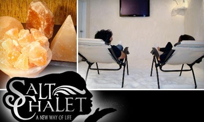 Salt Chalet - Encino: $35 for Three Salt-Air Treatments at Salt Chalet in Encino ($165 Value)