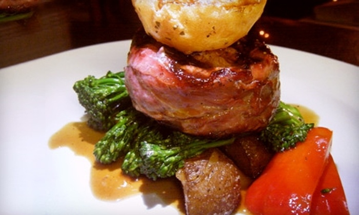 The Yellowhouse Restaurant - Central City: $25 for $50 Worth of Dinner and Drinks at The Yellowhouse Restaurant