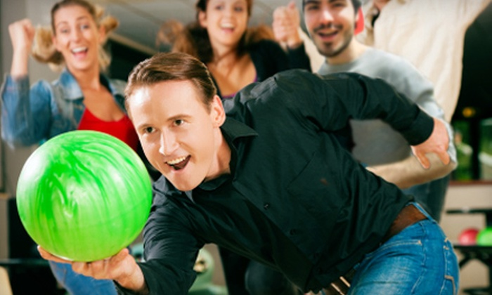Town 'N Country Bowl - Sunset: Bowling Package for Two or Four at Town 'N Country Bowl