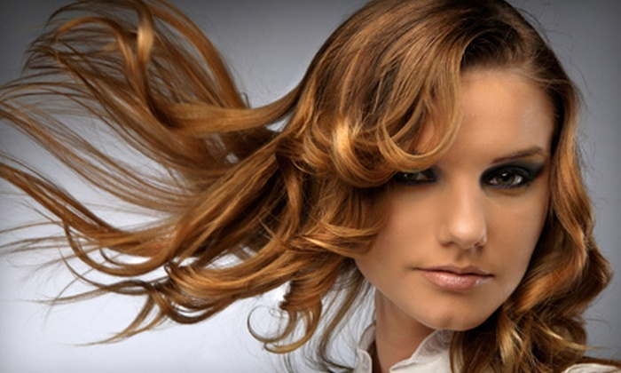 Hair Changes - Schaumburg: Cut and Style or Cut, Style, and Partial Highlights at Hair Changes in Schaumburg