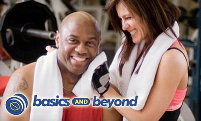 Basics and Beyond - Multiple Locations: $35 for Three One-Hour Personal Training Sessions from Basics and Beyond ($195 Value)