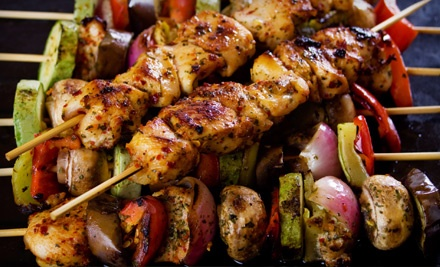Authentic Persian Dinner for 2 - Saaghi Restaurant House of Kabob in San Jose